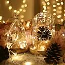 halpa LED-hehkulamput-2m: n merkkivalot 20 led-moniväristä johtettua keijujauhalamppua hääjuhlissa tapahtuvaa joulukoristeita varten