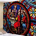 halpa Seinämaalaukset-Klassinen teema Wall Decor 100% polyesteri Vintage / Perinteinen Wall Art, Seinävaatteet Koriste