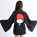 abordables Disfraces de Anime-Inspirado por Naruto Cookie Anime Animé Disfraces de cosplay Tops Bottoms Cosplay Anime Manga Larga Capa Para Unisex