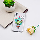 cheap iPhone Cases-Case For Apple iPhone XR / iPhone XS Max Ring Holder / Pattern Back Cover Plants / Cartoon Soft TPU for iPhone XS / iPhone XR / iPhone XS Max