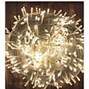 povoljno Božićni ukrasi-50m string svjetla 1000 LEDs 1x 1 do 4 kabelski priključak topla bijela hladno bijela crvena vodootporna stranka ukrasna 220-240 v 1 set