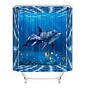 cheap Shower Curtains-Shower Curtains & Hooks Contemporary Plastics / Polyester Waterproof / Cute