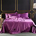 voordelige Luxe dekbedovertrekken-Dekbedovertrek Sets Effen / Modern Polyster Gewatteerd 4-deligBedding Sets