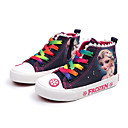 billige Sneakers til børn-Pige Kanvas Sneakers Toddler (9m-4ys) / Små børn (4-7 år) / Store børn (7 år +) Komfort Lyseblå / Mørkeblå Forår