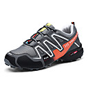 cheap Men's Athletic Shoes-Men's Light Soles Synthetics Spring Sporty / Casual Athletic Shoes Running Shoes / Hiking Shoes Non-slipping Color Block Black / Dark Blue / Gray