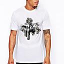 povoljno Komplet kupaonskih pribora-Majica s rukavima Muškarci Grafika Okrugli izrez Slim Obala