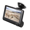halpa Auto-DVR-1080p HD Auto DVR 170 astetta Laajakulma 4 inch IPS Dash Cam kanssa GPS / Pimeänäkö / G-Sensor Automaattinen tallennin