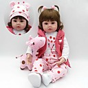 cheap Reborn Doll-Reborn Doll Baby Girl 18 inch Silicone - Kids / Teen Kid's Unisex Toy Gift