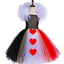 povoljno Movie & TV Theme Costumes-kraljica srca nadahnuta djeca djevojke tutu haljina tila princeza karneval kostim