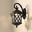 preiswerte Außenwandlichter-QIHengZhaoMing LED / Moderne zeitgenössische Wandleuchten im Freien Shops / Cafés / B¨¹ro Metall Wandleuchte 110-120V / 220-240V 5 W