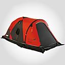رخيصةأون مفارش و خيم و كانوبي-LONGSINGER 2 الأشخاص خيمة التخييم العائلية في الهواء الطلق التنفس إمكانية سحّاب YKK طبقات مزدوجة قطب الماسورة خيمة التخييم 2000-3000 mm إلى Camping / Hiking / Caving السفر نايلون 75+210+75*135*115