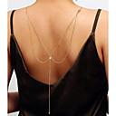 ieftine Bijuterii pentru corp-Corp lanț / burtă lanț Ieftin Pentru femei Auriu / Argintiu Bijuterii de corp Pentru Nuntă / Petrecere / Cadou / Club / Măr