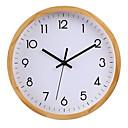 """זול שעוני קיר-סגנון מודרני עשה-זאת-בעצמך עץ עגול בבית / בטבע 30 * 30cm (12 """"12"""")"""