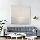 Недорогие Картины в рамах-Холст в раме С принтом - Пейзаж Полистирен Масляные картины Предметы искусства