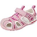 halpa Lasten sandaalit-Tyttöjen Silmukka / Nahka Sandaalit Taapero (9m-4ys) / Pikkulapset (4-7 vuotta) / Suuret lapset (7 vuotta +) Comfort Harmaa / Fuksia / Pinkki Kesä