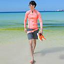 halpa Märkäpuvut, sukelluspuvut ja suoja-asut-JIAAO Miesten Skin-tyyppinen märkäpuku Sukelluspuvut UV-aurinkosuojaus Tuulenkestävä Full Body Uinti Sukellus Yhtenäinen Patchwork Syksy Kevät Kesä / Elastinen