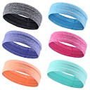cheap Fitness Gear & Accessories-HeadBand Stretchy Breathable Anti-slip Strap Sweat Control Exercise & Fitness Gym Workout Workout For Men Women