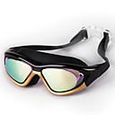 זול Swim Goggles-משקפי שחייה עמיד למים נגד ערפל אנטי-UV עמיד בפני שחיקה שחייה אנטי החלקה PC PC לא תקף שחור כחול זהב