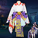 cheap Videogame Cosplay Wigs-Inspired by Onmyoji Cosplay Anime Cosplay Costumes Cosplay Suits Anime Long Sleeve Costume For Unisex