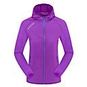 povoljno Softshell, flis i jakne za planinarenje-Žene Pješačka jakna za kožu Túrakabát Vanjski Pasti Proljeće Zaštita od sunca UV otporan Prozračnost Ultra Light (UL) Jakna Hoodie Majice Jednostrano sklizanje Penjanje Kampiranje / planinarenje