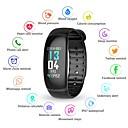 hesapli Akıllı Bileklikler-KUPENG B70 Akıllı Bilezik Android iOS Bluetooth Smart Sporlar Su Geçirmez Kalp Ritmi Monitörü Kan Basıncı Ölçümü Pedometre Arama Hatırlatıcı Aktivite Takipçisi Uyku Takip Edici Hareketsiz Hatırlatma