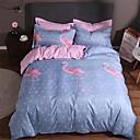 זול כיסוי שמיכות מוצק-סטי שמיכה אחיד / עכשווי polyster הדפס 4 חלקיםBedding Sets