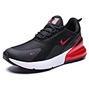 cheap Men's Athletic Shoes-Men's Comfort Shoes Faux Leather Spring & Summer Sporty / Preppy Athletic Shoes Running Shoes / Walking Shoes Breathable Red / Black / White / Black / Red