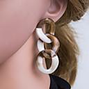 olcso Divat fülbevalók-Női Színes Gyöngy Mértani Függők Fülbevaló Ékszerek Szürke Kompatibilitás Napi 1 pár