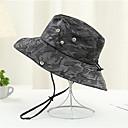 זול תחפושות מבוגרים-כל העונות כתום אודם אפור כובע קש כובע שמש קולור בלוק פרחוני כותנה פעיל בסיסי סגנון חמוד יוניסקס