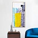זול אומנות ממוסגרת-דפוס אומנות ממוסגרת קאנבס ממוסגר הדפסים - מופשט פוליסטירן ציור שמן וול ארט