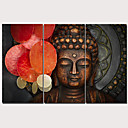 cheap Prints-Print Stretched Canvas Prints - Still Life Traditional Modern Three Panels Art Prints