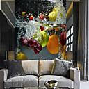 povoljno Zidne tapete-čista voda voće i povrće prikladno za tv pozadinu zidne tapete murali dnevna soba kafić restoran spavaća soba ured xxxl (448 * 280cm)