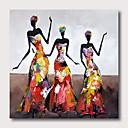 halpa Abstraktit maalaukset-Hang-Painted öljymaalaus Maalattu - Abstrakti Pop Art Comtemporary Moderni Sisällytä Inner Frame