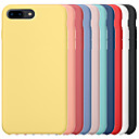 cheap iPhone Cases-Case For Apple iPhone 6 / iPhone 6 Plus iPhone 6s iPhone7  iPhone8 iPhone7plusiPhone8plus iPhone X/ XS /XSMAS Shockproof Back Cover Solid Colored Hard PC / Silica Gel for