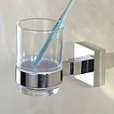 זול מחזיק מברשות שיניים-מחזיק למברשת שיניים עיצוב חדש / יצירתי עכשווי / מודרני פלדת על חלד 1pc - חדר אמבטיה מותקן על הקיר