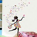 povoljno Zidne naljepnice-Dekorativne zidne naljepnice - Ljudi Zidne naljepnice Vile Spavaća soba / Unutrašnji