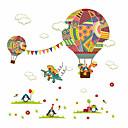 halpa Seinätarrat-Koriste-seinätarrat - Lentokone-seinätarrat Kukkakuviot Lastenhuone / Kids Room