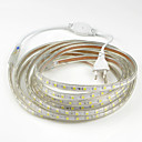 cheap RC Parts & Accessories-15m Flexible LED Light Strips 900SMD LEDs 5050 SMD Warm White / White / Red Waterproof / Cuttable / Party 220-240 V