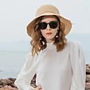 זול מברג-סיב טבעי כובעי קש עם פפיון 1pc קזו'אל / לבוש יומיומי כיסוי ראש