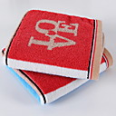 זול מגבת רחצה-איכות מעולה מגבת רחצה, קולור בלוק כותנה טהורה 4 pcs