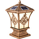 billige Pathway Lights-QINGMING® 1pc 2 W plen Lights Vanntett / Solar / Lysstyring Varm hvit + hvit 3.7 V Utendørsbelysning / Courtyard / Have 1 LED perler