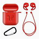 זול אביזרים לאוזניות-1set tpu סיליקון Bluetooth אוזניות אלחוטיות במקרה עבור airpods כיסוי מגן ואביזרים עור עבור תפוח airPods תיבת טעינה