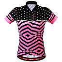 povoljno Biciklističke majice i kompleti-WOSAWE Žene Kratkih rukava Biciklistička majica Blushing Pink Bicikl Sportska majica Biciklistička majica Majice Prozračnost Povratak džep Izzadás-elvezető Sportski Poliester Brdski biciklizam