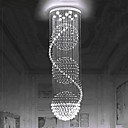 cheap LED Shower Heads-European crystal chandelier staircase crystal lamp rotary staircase lamp double staircase lamp living room lamp