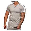hesapli Erkek Tişörtleri ve Atletleri-Erkek İnce - Tişört Solid YAKUT