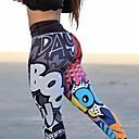 billige Trening, jogging og yogaklær-Dame Yogabukser sport Elastan Bunner Sportsklær Fukt Wicking Butt Lift Elastisk