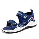 billige Sneakers til børn-Drenge PU Sandaler Små børn (4-7 år) / Store børn (7 år +) Komfort Mørkeblå / Gul / Marineblå Sommer