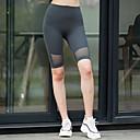 זול ביגוד כושר, ריצה ויוגה-בגדי ריקוד נשים מכנסי יוגה קצרים אופנתי ריצה מכנסיים קצרים לבוש אקטיבי נושם ייבוש מהיר רך באט הרם מיקרו-אלסטי רזה