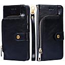 billige Herrekjeder-Etui Til Apple iPhone 8 Plus / iPhone 8 / iPhone 7 Plus Lommebok Bakdeksel Ensfarget Hard PU Leather