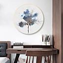 povoljno Slavine za umivaonik-Uokvireno platno Printevi - Sažetak Cvjetni / Botanički Drvo Sketch Wall Art